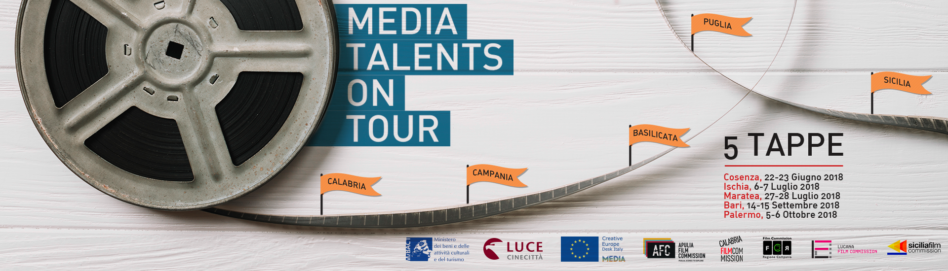 MEDIA, talenti in tour