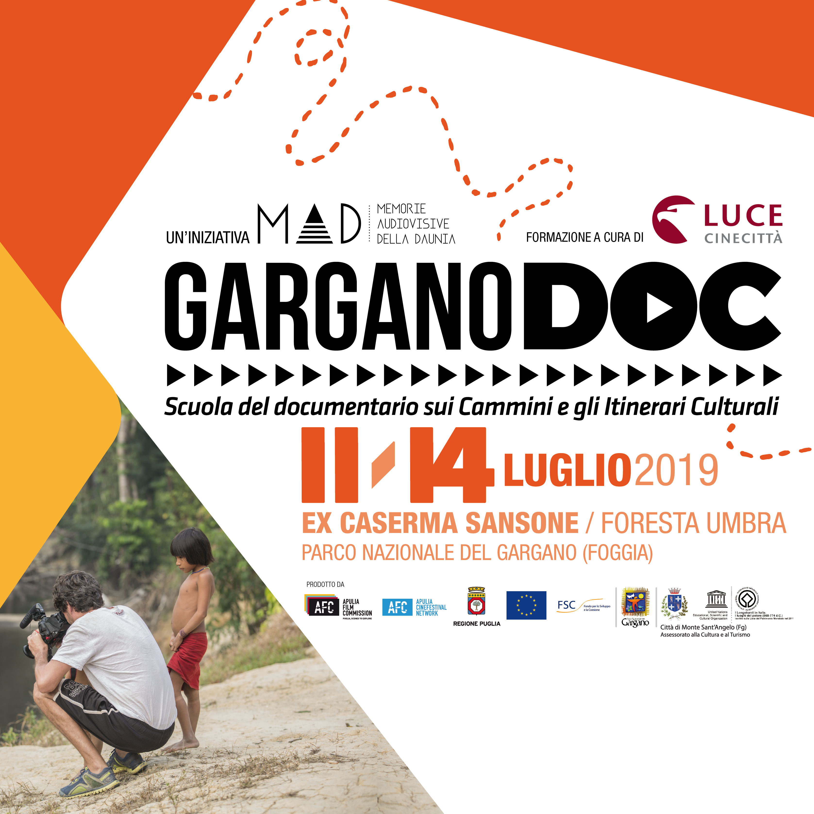 Luce Cinecittà firma i workshop di Gargano DOC