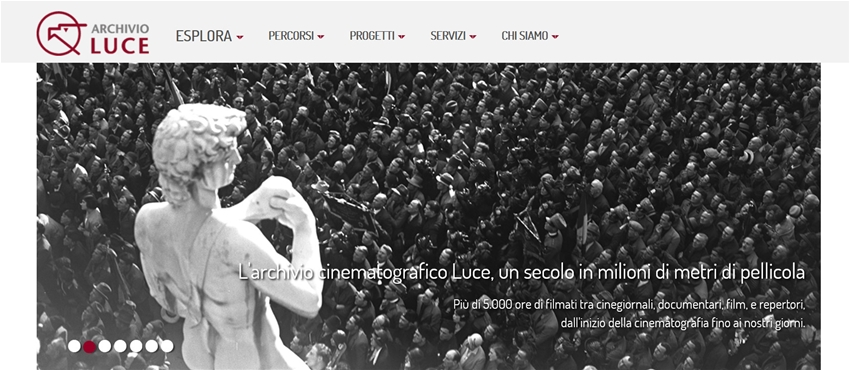 c9134390e0ed Il nuovo Archivio Luce online  uno straordinario viaggio nel  900 italiano